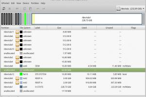 Chromium OSをインストールしたドライブの初期化方法