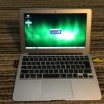 SSDが壊れたMacBook AirをUSBメモリーにフルインストールしたLinuxMintで動かす