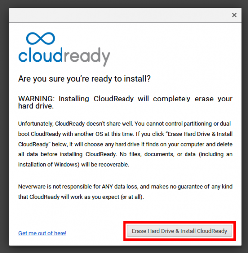 InstallCloudReady2